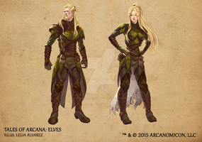Tales of Arcana 1st Set - Elves by TalesofArcanaRPG