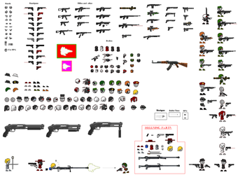 Thing Thing Sprite Sheet by Father-Alexander