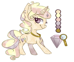 Crystal Pony Auction (CLOSED) by YeahWhateverBye