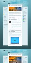 Awesome Coprorate Blog by PsdThemes