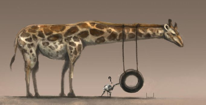 Fun things to do with a giraffe by blee-d