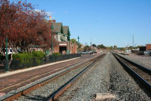 Flagstaff Railroad Station by Dr-J-Zoidberg