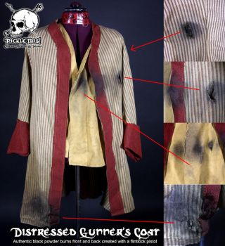Gunners Pirate Coat by Picklethis