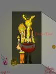 Trick or Treat by PlusherPlays