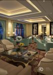 A HOTEL COMMON ROOM by Fdjohan19