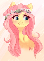 Yellow Quiet by spittfireart