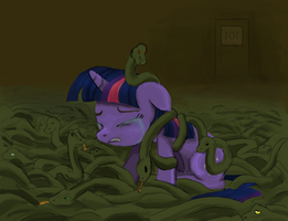 MLP:FiM Day 28 - Why did it have to be snakes by ah-darnit