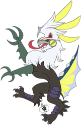 Heraldry Silvally Electric Type by TheMerryWolf