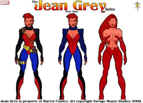 Jean Grey Series: Part Nine by SavageMouse