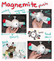 Magnemite Pokedoll plush