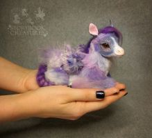 Baby Pegasus Poseable Art Doll - Sold by StorybookCreatures