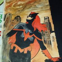 The Batwoman NYCC sketch  by RobertHack