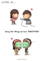 Love is... Doing things together! by hjstory