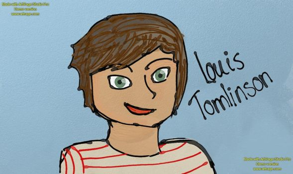 Louis Tomlinson by csooomle