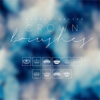 Crown Brushes by raibowforlife