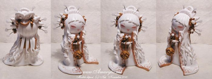 Kokeshi fimo Special edition by Nailyce