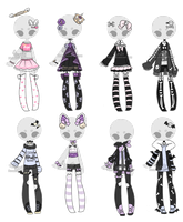 +Outfit Adoptable Mix 29 [CLOSED] (0/8)+ by Hunibi