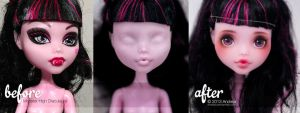 Custom Monster High Draculaura 2 by AndrejA