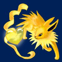 Intensity of my Love - Jolteon by Sparkleworks