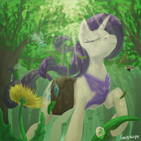 Dignity Through Serenity by Gaiascope