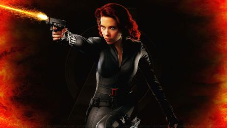 Scarlett Johansson Black Widow XXI by Dave-Daring