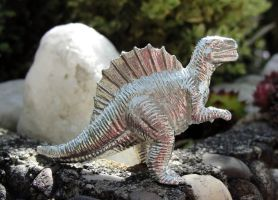 Pewter Spinosaurus by Psydrache