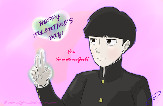 Mob Valentine 2018 by SakuraNights