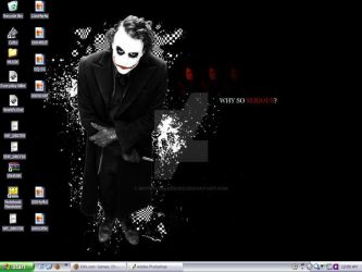 Why So Serious? Wallpaper by sinthiavalesquez