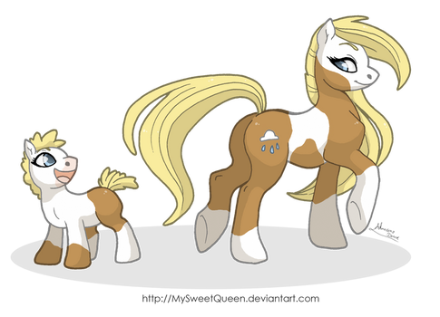 Wow, Mommy's Tail is Awesome! by Almairis