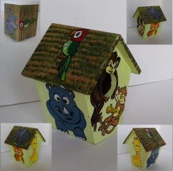 Animal House - Bird house by sweetpie2