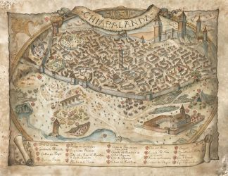 Map of Chiaralanda by FrancescaBaerald