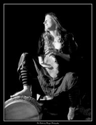 FOLK (DSCF6318 #1a BW) by Chattering-Magpie