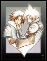 KH2 - Cheesy fangirl bait by 8-13