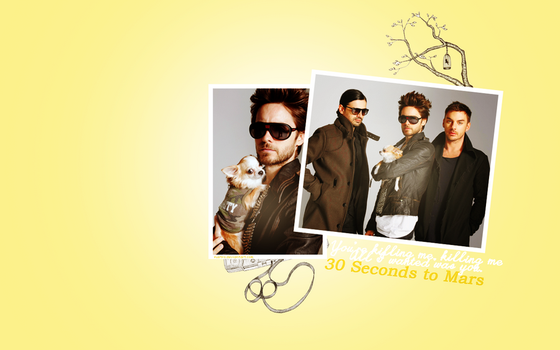 30 Seconds to mars 1280x800 by Fustro