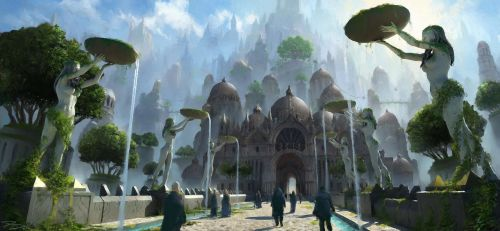 Houses of the holy, Southern Empire by PiotrDura