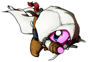 Kirby Collab- Altair Kirby by TheEternalFlare