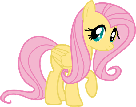 Fluttershy happy by The3javi