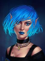 Commission: Willow portrait by dimary