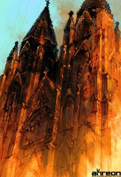 Cologne Cathedral by akreon