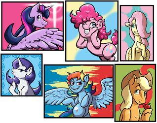 My Little Ponies by LordFunkyFist