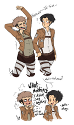 Accidental Casual French by Squidbiscuit