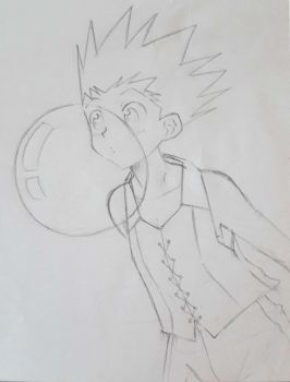 Gon and gum by Aria-project