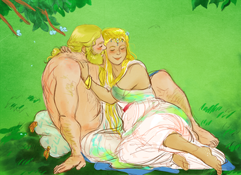 idril and tuor by jubah
