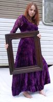 Purple Lace Dress Stock 44 by Gracies-Stock