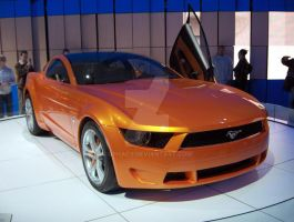 Ford Giugiaro Mustang Concept by Qphacs