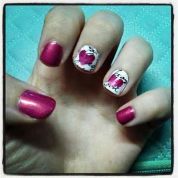Valentines Nails by Damaged-4-Lyf