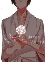 Pray for Japan by ohprocrastinator