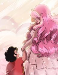 Steven Universe: Mother and Son by Rice-Lily
