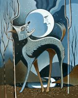 Coyote Moon by RonOden