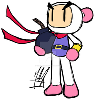 White Bomber - Bomberman by SailorBomber